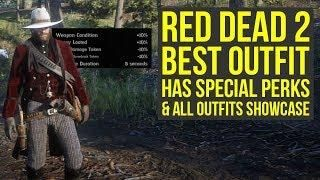 Red Dead Redemption 2 Best Outfit HAS SPECIAL PERKS & All