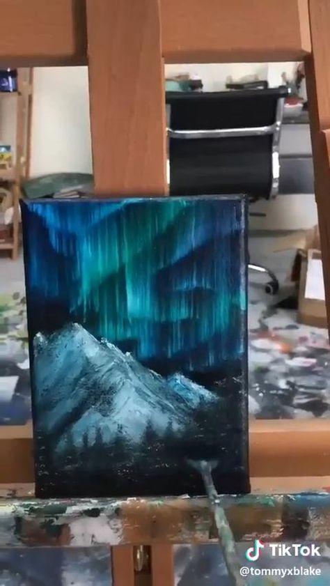 Beautiful Acrylic Painting Tutorial
