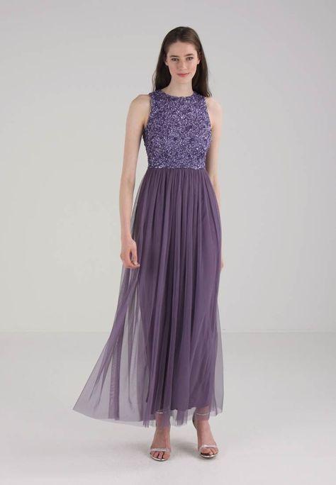 Abiti Da Sera Zalando.Lace Beads Picasso Maxi Abito Da Sera Dark Lavender