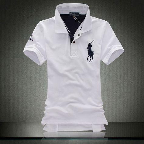 Polo Shirt - Branded Ralph Lauren in white | Polo shirt brands ...