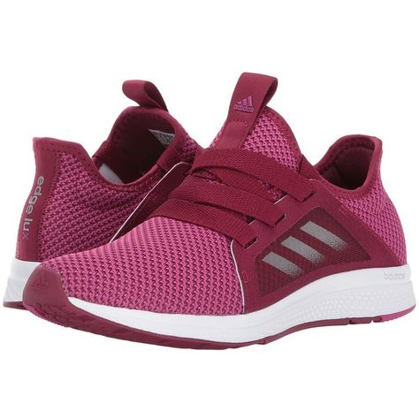6b3cffd854b adidas Running Edge Lux (Mystery Ruby Bahia Magenta Footwear White)...  ( 85) ❤ liked on Polyvore featuring shoes