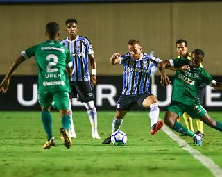 Gremio Vence Goias Por 2 A 0 E Garante Vantagem Na Copa Do Brasil Gremio Goiano Copa Brasil