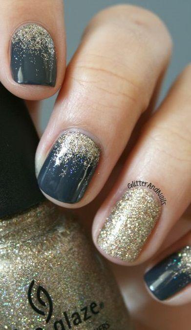 9 Beautiful Nail Art Ideas #nailideas #beauty #nails #nailart #naildesign #winternail #fallnail #glitternail #gelnail