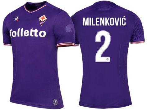 0494cd820 Fiorentina Jersey nikola milenkovic Home 17-18 Shirt