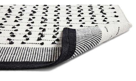 Szögletes alakú szőnyegek - Macka szőnyeg - négyszögletes - Fekete - Huzat 8bac4ae573