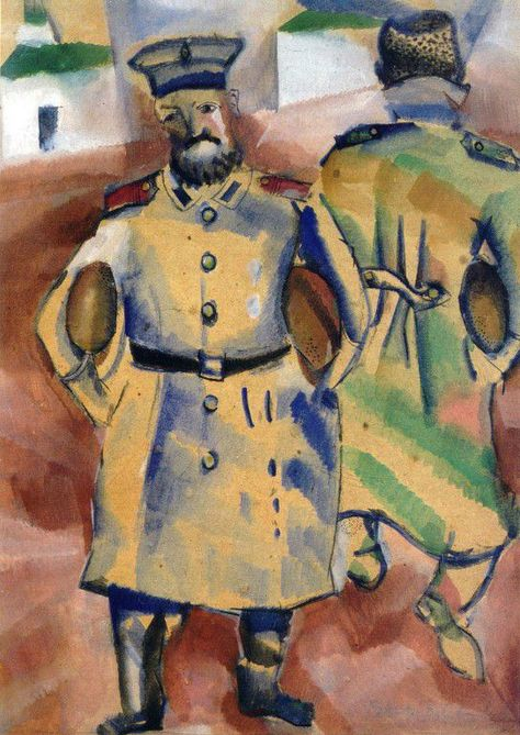 Marc Chagall 1914 Marc Chagall during The war 1914 - 1915