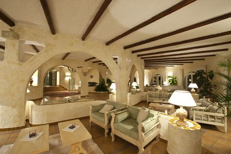 The Club Hotel Of Baja Sardinia Is Located In Costa Smeralda Very
