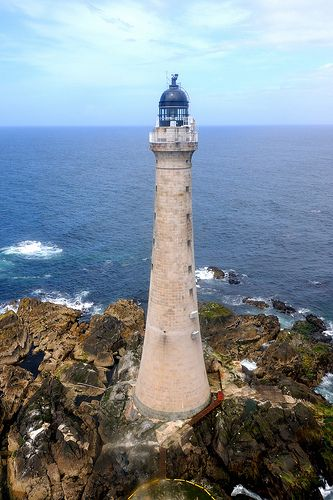 Skerryvore Lighthouse (12 miles SW of Tiree), Scotland