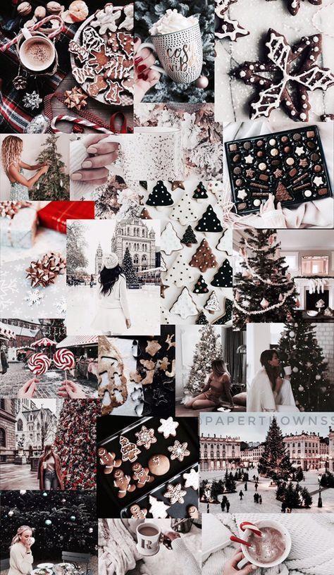 26 Trendy Aesthetic Christmas Wallpaper Collage Christmas