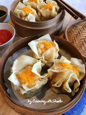 Resep Siomay Ayam Udang Oleh Cooking With Sheila Resep Memasak Cemilan Ide Makanan