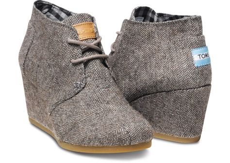 Herringbone Women's Desert Wedges size 9.5-or 10