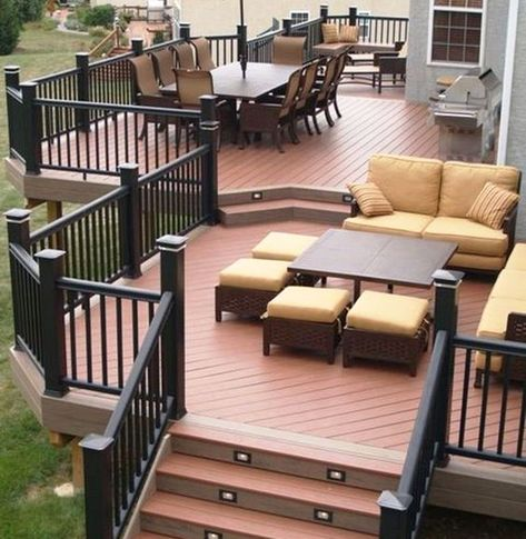 Pin By Enoabasi Inyang On Outdoor Living Patio Deck Designs Backyard Patio Designs Patio Design