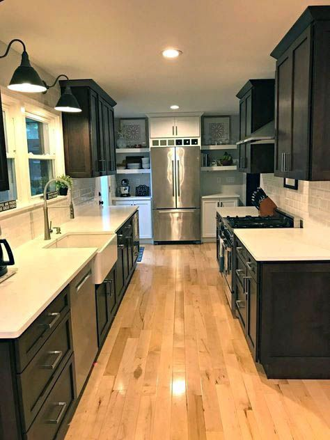 Fantastic Galley Kitchen Remodel Remove Wall Only In Indoneso Design Kitchen Remodel Cost Galley Kitchen Remodel Galley Kitchen Design