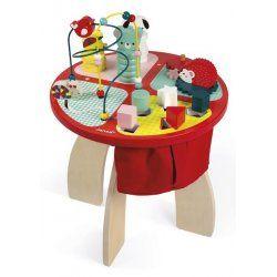 Table D Activites Baby Forest Janod Table D Activite Activites Bebe Jouet Eveil