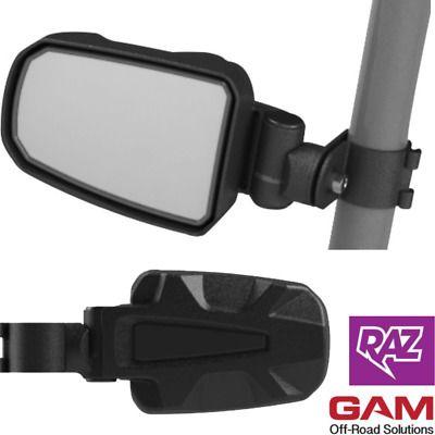 "YAMAHA YXZ1000R Fits 1.75/"" roll bar New YXZ1000R SE UTV Side View Mirror Set"