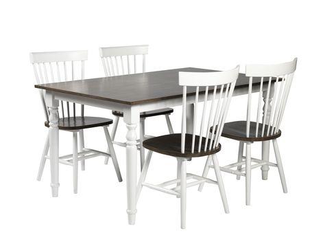 Suositun, ajattoman Rachel pinnatuolin istuin on harmaa, muuten tuoli on valkoinen.