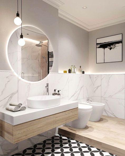 Luxury Modern White Bathroom Designs Google Search Bathroom Interior Bathroom Design Luxury Bathroom