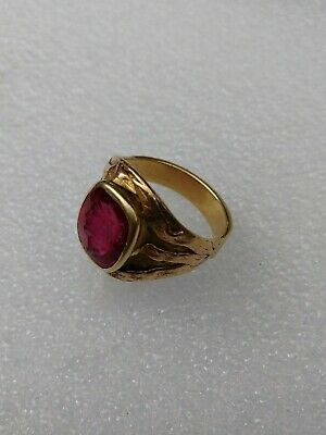 Ad Ebay Link Antique Men S 10k Gold Ring W Red Stone Carved Cameo 8 8g Unmarked Tested 10k Gold Rings 10k Gold Ring Victorian Pendants