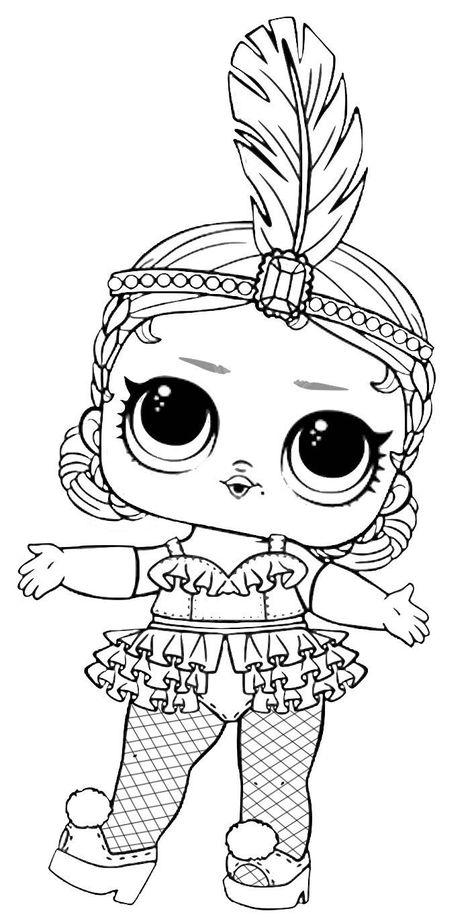 Dibujos Para Colorear Munecas Lol Barbie Para Colorear Dibujos