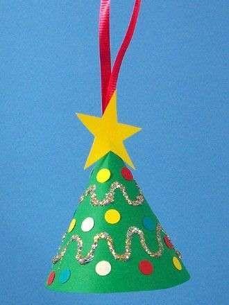 Addobbi Natalizi X Bambini.Albero Di Natale Ecologico Per Bambini Foto 4 40 Pourfemme Natale Artigianato Artigianato Festivita Lavoretti Invernali