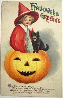 Halloween Postcards  Clapsaddle