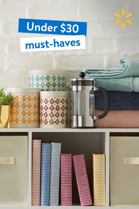 Score savings on storage, decor  more at Walmart, all with free two-day delivery. Ships in 2 business days. $35 min. Restr. apply.