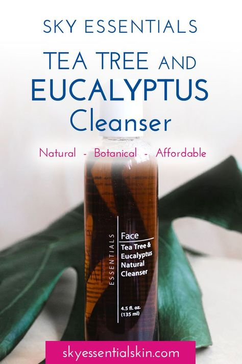 Our sulfate free cleanser has a thin consistency, allowing it to slip effortlessly beneath plugs blocking pores. Pores stay clean down deep where problems begin. A patented blend of the most active fractions of Australian and New Zealand Tea Tree oils wor