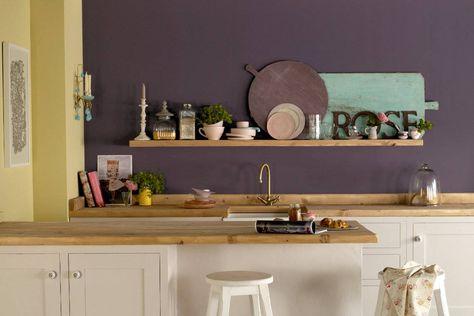 25+ ide terbaik Abwaschbare wandfarbe di Pinterest Türen weiß - abwaschbare tapeten für die küche