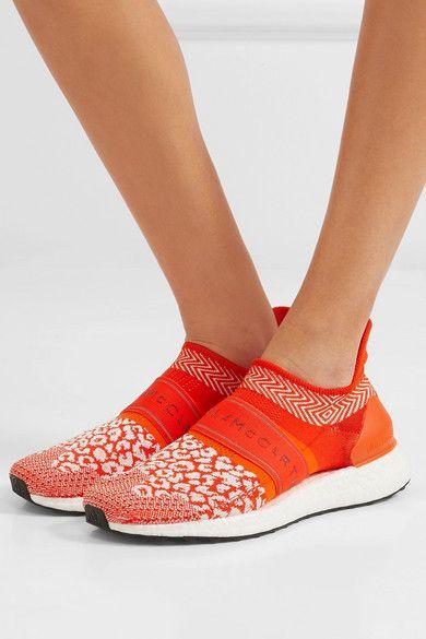 07e137df adidas by Stella McCartney | UltraBOOST X 3D leopard-print Primeknit  sneakers | NET-A-PORTER.COM