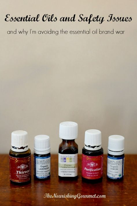 This is a really important topic! ---> Why Essential Oils Need to Be Used Safely (& why I'm avoiding the essential oil brand war).