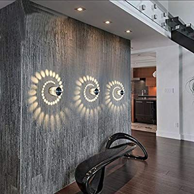 Coocnh 3w Led Wall Light Indoor Aluminum Modern Effect Wall Lamp For Babyroom Living Room Bathroom Bedroom Co Led Wall Lamp Wall Lamp Modern Led Ceiling Lights