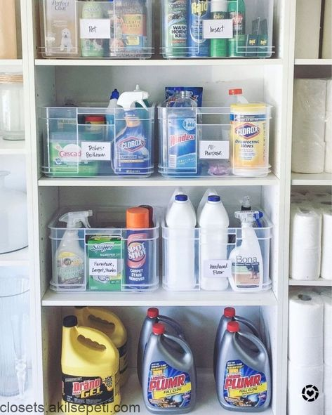 It Can Be A Full Time Job To Keep The House Clean Save Time And Energy By Cleaning Supplies Organization