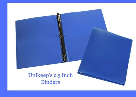 Unikeep Has Come Across Exclusive 0 5inch Binder To Store Your Valuable Information And Data In A Well Organized Manner 3 Ring Binders Binder 5 Inch Binder