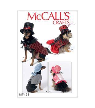 Mccall S Pattern M7584 Kids Gathered Top Skirt Dog Costumes