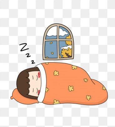 Ice And Snow Warm Room Sleepy Sleeping Cartoon Character Hand Drawn Illustration Heavy Snow Leisure Clipa Sleep Cartoon Character Design Inspiration Clip Art