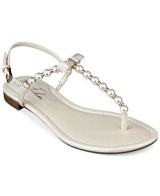 5e7bb54ea6e Marc Fisher Fumi Flat Thong Sandas - Shoes - Macy s