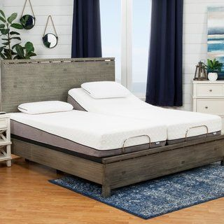 Overstock Com Online Shopping Bedding Furniture Electronics Jewelry Clothing More King Size Memory Foam Mattress Memory Foam Mattress Adjustable Bed Base