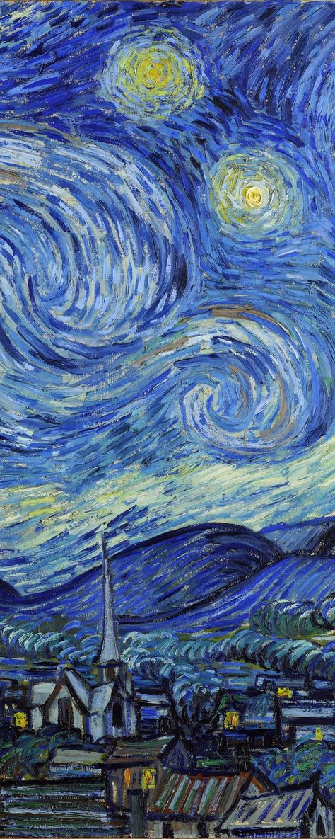 """starry night van gogh A magistrate on friday fined the owner of a home painted in the theme of vincent van gogh's famous painting """"starry night"""" was fined $3,100 for ignoring an order to paint over the home in a solid color after being found to be in violation of city codes."""