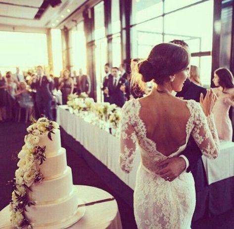 steven khalil 2015 lace mermaid wedding dress | dress gown hair stevenkhalil venue wedding weddingcake weddingdress ...