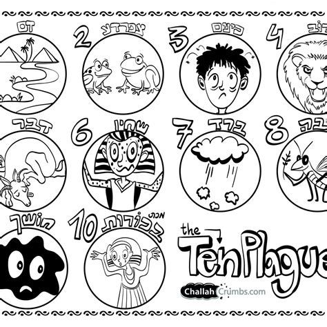 Image Result For 10 Plagues Of Egypt Coloring Pages Ten Plagues