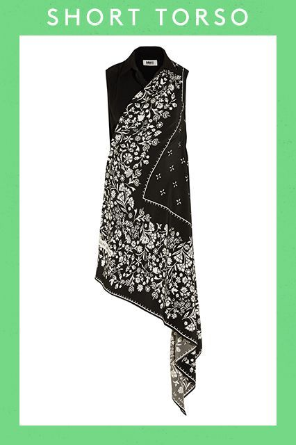 The Best Spring Dresses For Your Body — Period #refinery29  http://www.refinery29.com/spring-dresses-for-your-body-type#slide-42  Did we mention bandana prints are in this season, too?
