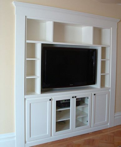 Built In TV Cabinet Design, Pictures, Remodel, Decor And Ideas   Page 6 |  Furniture Finds | Pinterest | Tv Cabinet Design, Cabinet Design And TVs