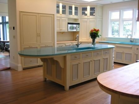 Kitchen Counter Extension 14 The Art Gallery Tropical turquoise lava