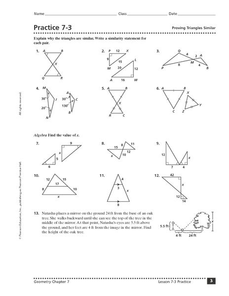 Triangle Congruence Proofs Worksheet Answers - worksheet