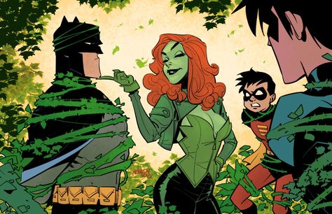 Imaginary Gotham - The art of Batman and his Universe. Poison Ivy Comic, Dc Poison Ivy, Poison Ivy Dc Comics, Poison Ivy Cartoon, Poison Ivy Pictures, Frozen Costume Adult, Mickey Mouse Costume, Gotham Villains, Poison Ivy Costumes