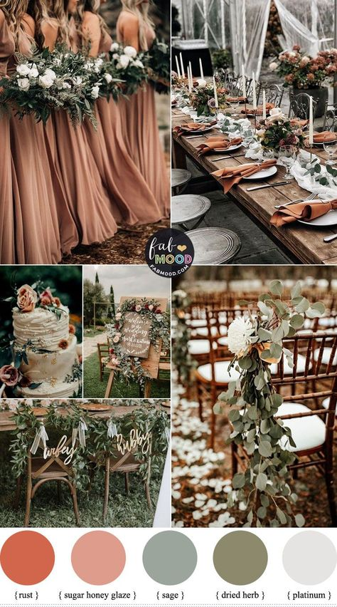 Winter Wedding Colors 2019 In Shades of Winter Season Source by anastasiamaren More from my siteColorful Fall Wedding Palette That Celebrate The Vegetables that Grow in Shade