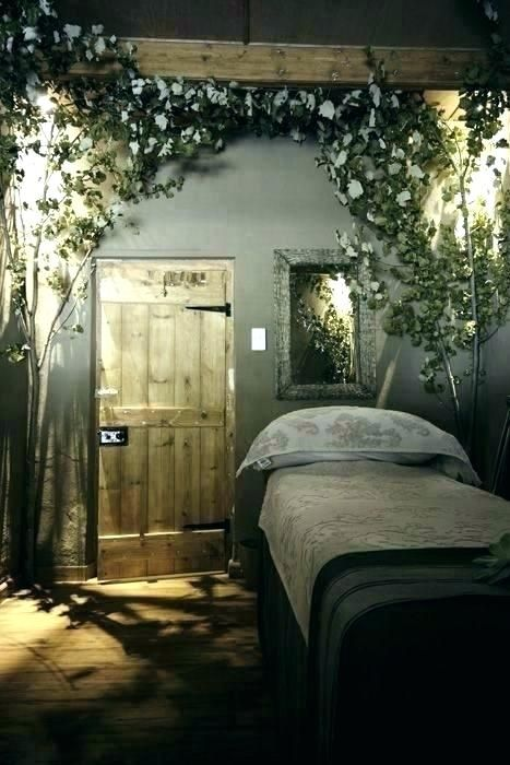 Enchanted Forest Bedroom Themed Decor Theme Lovely Decoration Diy Massage Room Decor Spa Rooms Massage Room