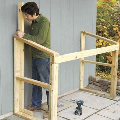 How To Build A Trash Shed Diy Projects Pinterest Diy Storage