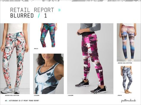Activewear Print & Pattern Trend Report – Spring/Summer 2017 - Blurred