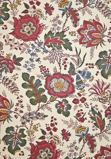 Coromandel Curtain Fabric Floral Curtains Curtain Fabric